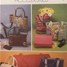 McCalls Sewing Pattern 3136 Fashion Accessories Tote Bag Barrel Bag Uncut