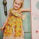 Izzy & Ivy Sewing Pattern 0139 Girls Princess Bella Dress Size 2T-14 Uncut