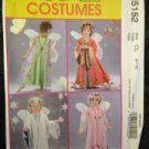 McCalls Sewing Pattern No 5152 / 0412 Childrens Fairy Costume Size 2-5 Uncut