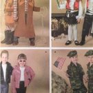 Simplicity Sewing Pattern 3997 Childs Boys Girls Army Grease Costumes Size 3-8