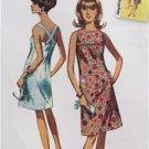 Simplicity Sewing Pattern 0420 1101 Misses Jiffy Dress Size 6-14 Uncut