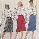 Simplicity Sewing Pattern 7668 Ladies Misses Proportioned Slim Skirt Size 12 UC