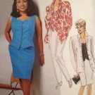 Sewing Pattern No 6504 McCalls Ladies Shirt Top Skirt and Pants Size 10-14