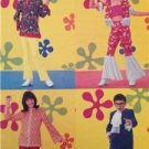 Butterick Sewing Pattern 6753 0453 Child Austin Powers Hippie Size 7-10 Uncut