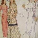 Sewing Pattern No 4251 Style Brides and Bridesmaid Dresses Size 12