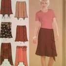 Simplicity Sewing Pattern 4884 Ladies Misses Skirts Two Lengths Size 16-24 Uncut