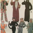 Simplicity Sewing Pattern 4454 Mens Misses Teens Hippie Baby Costume Sz XS-XL