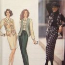 Sewing Pattern No 8669 Simplicity Ladies Wrap Skirt Pants Belt and Vest Size 4-8