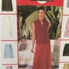 McCalls Sewing Pattern 2192 Ladies Misses Wrap Skirts Two Lengths Size 16-20 UC