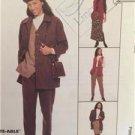 McCalls Sewing Pattern 8905 Ladies Misses Jacket Vest Pants Skirt Size 12-16 UC
