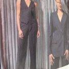 Vogue Guy Laroche Sewing Pattern 2591 Misses Jacket Vest Pants Size 14-18 Uncut