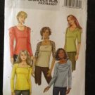 Butterick Sewing Pattern 5525 Butterick Ladies / Misses Top Size 6-12