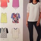 Simplicity Sewing Pattern 0467 Misses Tops Length Variations Size 4-12 Uncut