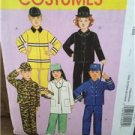 McCalls Sewing Pattern 5730 Girls Boys Army Nurse Costumes Size 6-8 Uncut