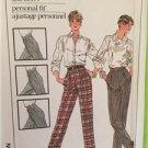 Simplicity Sewing Pattern 7584 Ladies Misses Personal Fit Pants Size 16 Uncut