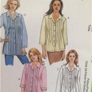 McCalls Sewing Pattern 4111 Ladies Misses Shirt Two Lengths Size 16-22 Uncut