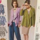 McCalls Sewing Pattern 6516 Ladies Misses Unlined Vest Jacket Size L-XXL Uncut
