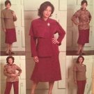 Butterick Sewing Pattern 4878 Ladies Misses Jacket Skirt Pants Size 18W-24W UC