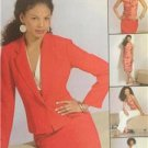 McCalls Sewing Pattern 4843 Misses Lined Jacket Halter Top Skirt Size 6-12 UC