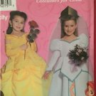 Simplicity  Sewing Pattern 9902 Disney Belle Ariel Child Costumes Size 3-8 UC