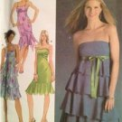 Simplicity Sewing Pattern 4626 Misses Ladies Dress Flounce Variations Size 12-18