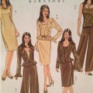 Butterick Sewing Pattern 4870 Ladies Misses Dress Pants Jacket Size 8-14 Uncut