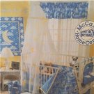 McCalls Sewing Pattern 3038 Baby Room Essentials Comforter Bumper Stacker Uncut