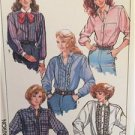 Simplicity Sewing Pattern 8181 Ladies Misses Loose Fitting Shirt Size 6-10 Uncut