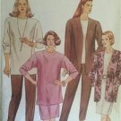 McCalls Sewing Pattern 6196 Misses Unlined Jacket Tunic Skirt Pants Siz 40-44 UC