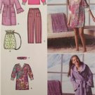 Simplicity Sewing Pattern 2749 Girls Childs Pants Robe Tunic Top Size 8-16 UC