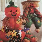 McCalls Sewing Pattern 9503 Halloween Fun Scarecrow Pumpkin Bat Uncut Cat