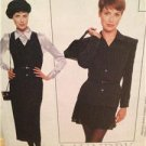 McCalls Sewing Pattern 7945 Ladies Misses Jacket Skirt Jumper Blouse Size 4-8 UC