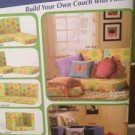 Simplicity Sewing Pattern 4121 Lounge Seating Own Couch Pillow UC New