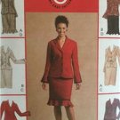 McCalls Sewing Pattern 4653 Ladies Misses Unlined Jacket Skirt Size 8-14 Uncut