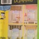 Simplicity Sewing Pattern 4997 Curtains Home Decoration Accessories One Size