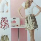 Simplicity Sewing Pattern 2226 Misses Skirt Tie Belt Size 6-18 Uncut