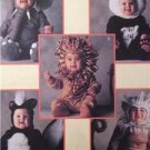 McCalls Sewing Pattern 8938 Childs Panda Tiger Lion Skunk Elephant Size 4 UC