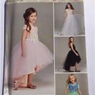 Simplicity Sewing Pattern 0421 1122 Child Girls Tulle Skirts Size 7-14 UC