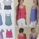 Simplicity Sewing Pattern 1424 Misses Pullover Tops Size 14-22 Uncut