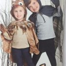 Simplicity Sewing Pattern 1304 Childs Lined Animal Cape Costume Size 3-8 Uncut