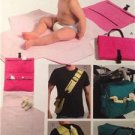 McCalls Sewing Pattern 5339 Baby Infant Diaper Bags Changing Kit Uncut