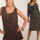 Butterick Sewing Pattern 4920 Misses Tunic Dress Size 14-20 Uncut
