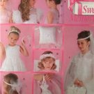 Simplicity Sewing Pattern 5602 Girls Cummunion Bridal Accessories Uncut One Size