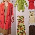McCalls Sewing Pattern 6127 Misses Jacket Tunics Dress Pants Size 18w-24w UC