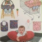 Simplicity Sewing Pattern 4225 Baby Infant Accessories Pillow Cover Seat Doll UC