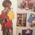 Mccalls Sewing Pattern 9050 Accessories For Bean Bag Babies Uncut Tote Backpack