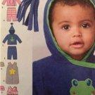 Simplicity Sewing Pattern 1546 Babies Infatns Pants Jacket Hat Sack Sze XXS-L UC