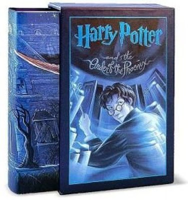 Harry Potter and the Order of the Phoenix (Book 5) Hardcover � Deluxe Edition, June 21, 2003