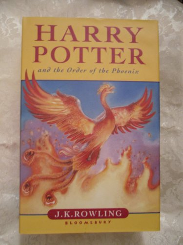 Harry Potter and the Order of the Phoenix Hardcover � January 1, 2003 UK Import