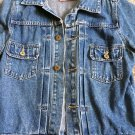 Juicy Couture 'Juicy' Distressted Denim Jacket